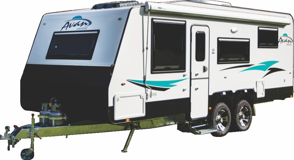 2017 Avan Aspire 617 Double Bunk Family Van