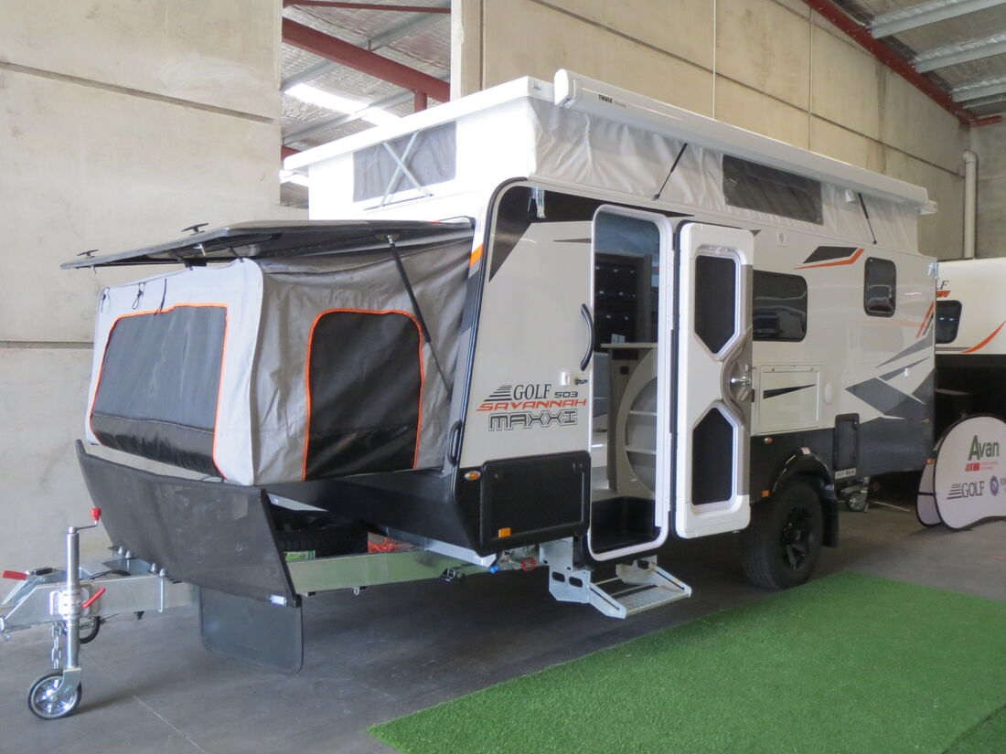 2021 Golf Savannah Maxxi 503 PT Ensuite Bunks N1699