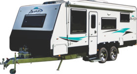 2017 Avan Aspire 617 Double Bunk Family Van
